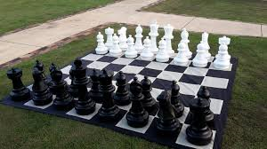 Complete with 3m x 3m chess board