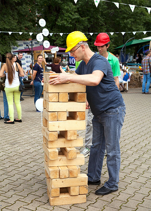 Carnival Games - Jenga, Dunk Tank, Egg and Spoon, Fun Foods, Trackless Train